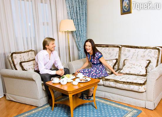Маргарита и Повилас на отдыхе в загородном «Империал Парк Отель & SPA»