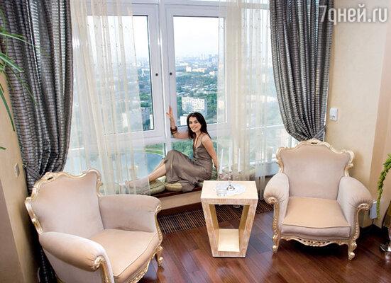 С 35-го этажа Сати Казановой Москва видна как на ладони