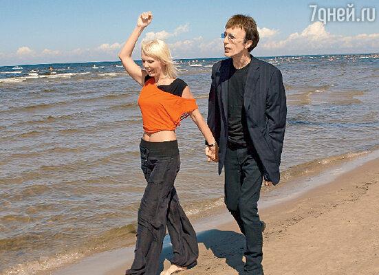 С Валерией легендарный Робин Гибб готов выйти и на сцену, и на пляж
