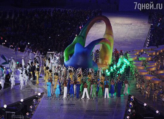 На церемонии закрытия ХХХ Летних Олимпийских игр