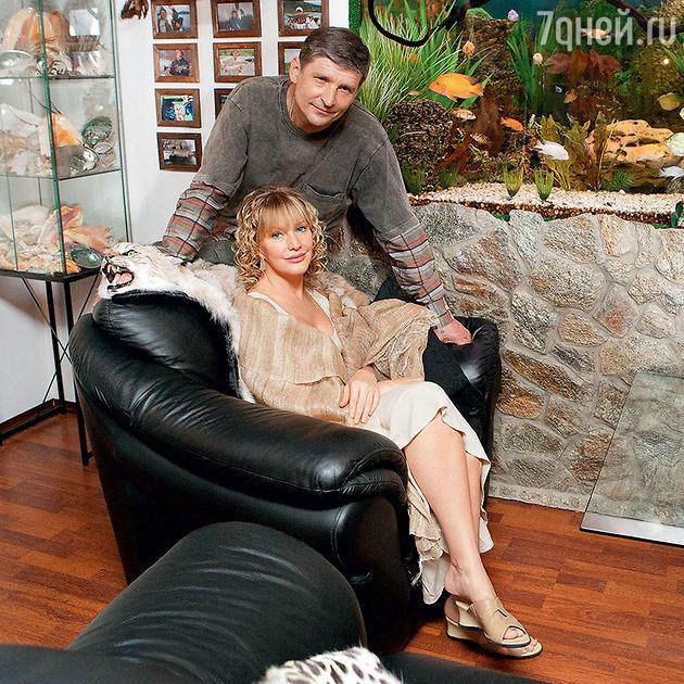 Елена Проклова с мужем Андреем Тришиным