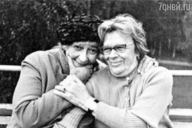 Татьяна Пельтцер и Фаина Раневская