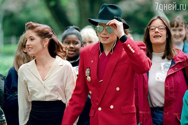 Лиза Мария Пресли и Майкл Джексон