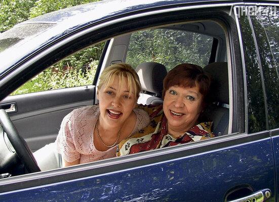 Мы с мамой едем на Николину гору