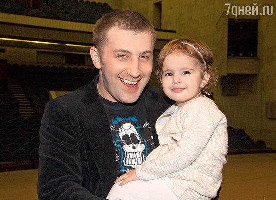 Роман Богданов с дочерью Рианой