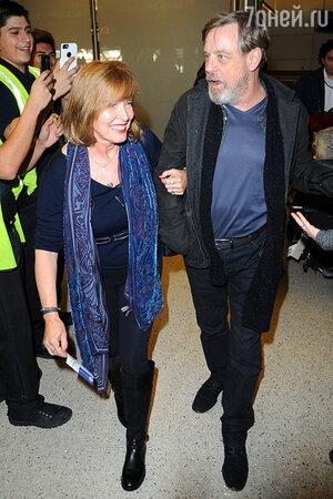Марк Хэмилл и Мэрилу Йорк
