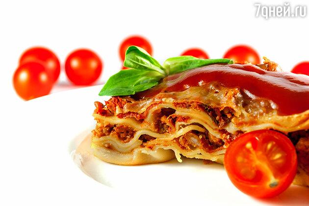 Готовим блюда итальянской кухни: овощная лазанья и рагу по-болонски