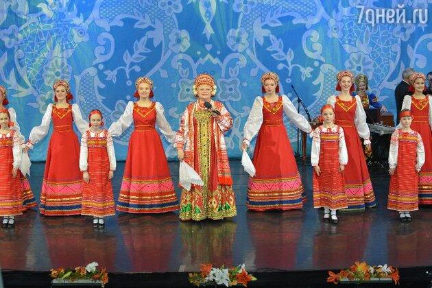 Концерт в честь 45-летия творческой деятельности Людмилы Рюминой