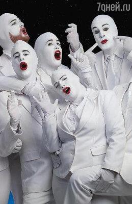 Сцена из музыкального шоу «Voca People»