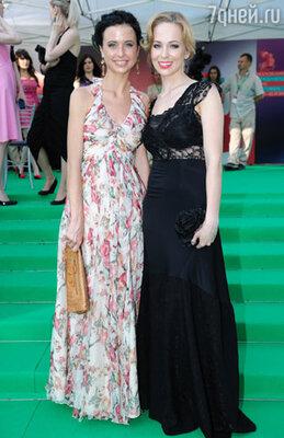 Мирослава Карпович и Ирина Медведева