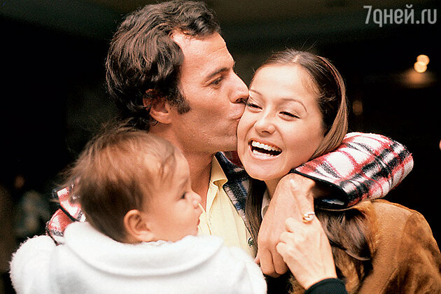 Хулио Иглесиас с женой и сыном