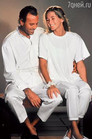 Хулио Иглесиас с женой
