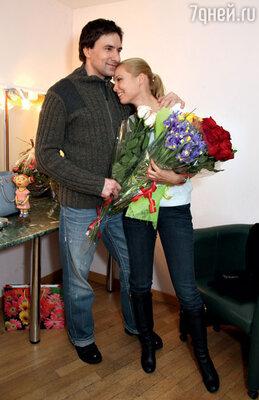 С Григорием Антипенко после спектакля