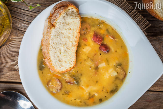 Гороховый крем-суп: рецепт от шеф-повара Мишеля Ломбарди