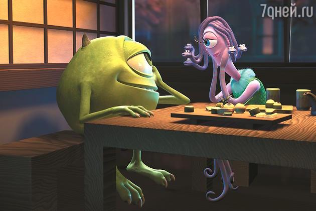 Майк и Селия — герои мультфильма «Корпорация монстров»