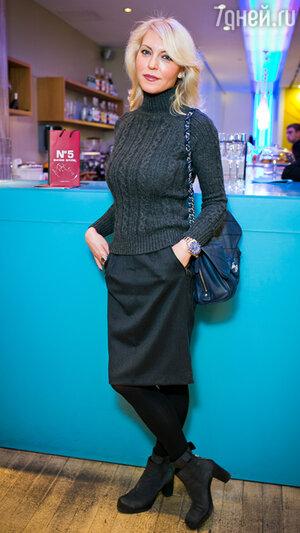 Дарья Михалкова на бранче известного швейцарского косметического бренда