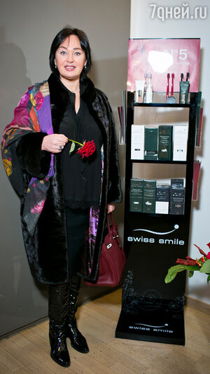 Лариса Гузеева на бранче известного швейцарского косметического бренда