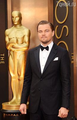 Леонардо Ди Каприо на86-й церемонии вручения премии «Оскар»