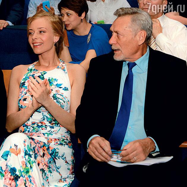 Александр Михайлов с дочерью Настей