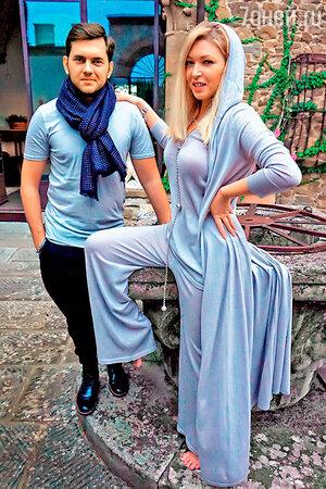 Ирина Дубцова и Леонид Руденко в Париже