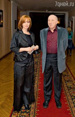 Сергей Юрский с дочерью Дарьей