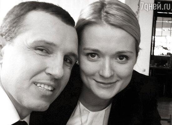 Игорь Верник и Надя Михалкова