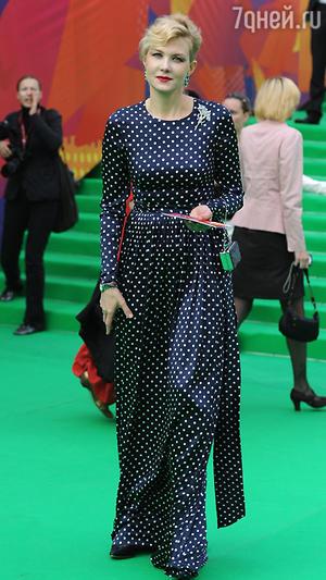 Рената Литвинова. Открытие 32-го Московского международного кинофестиваля, 2010 год