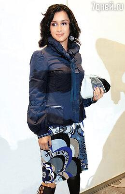На показе Валентина Юдашкина. 2008 г.
