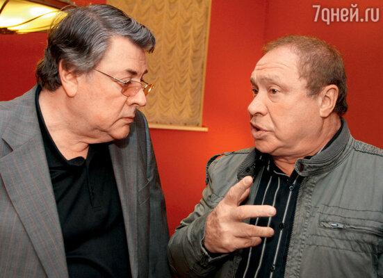 С Александром Ширвиндтом на вручении премии «Хрустальная Турандот». 2012 г.