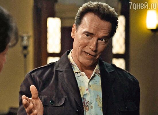 В новом фильме Сталлоне «Неудержимые» снялся Арнольд Шварценеггер...