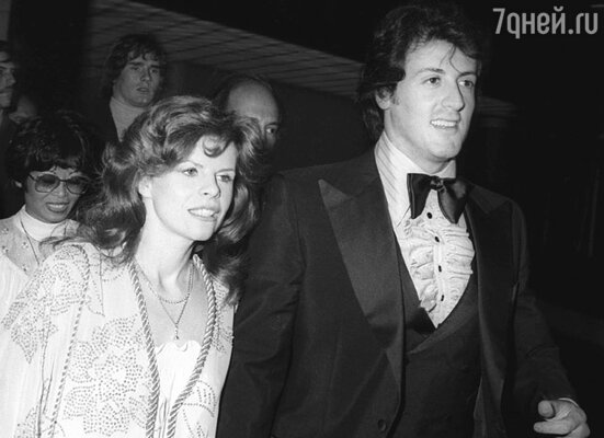 С первой женой актрисой Сашей Чак