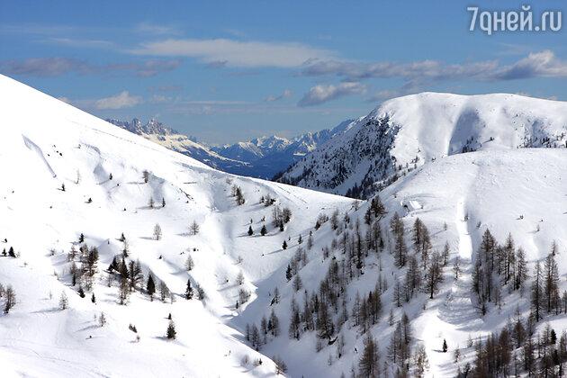Мерано зимой