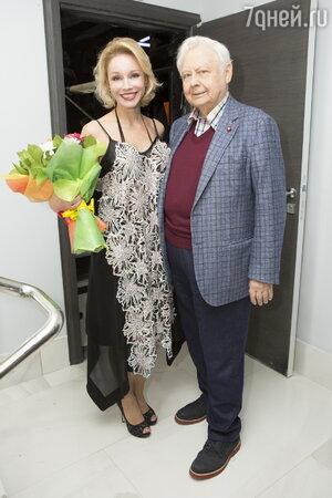 Олег Табаков, Марина Зудина