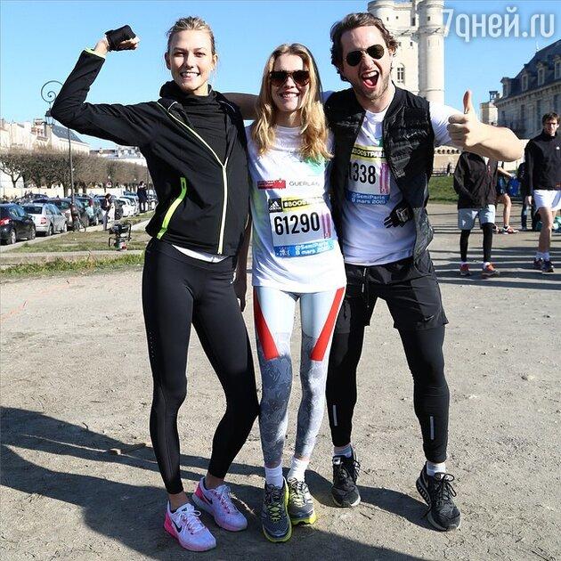 Наталья Водянова, Карли Клосс и Дерек Бласберг