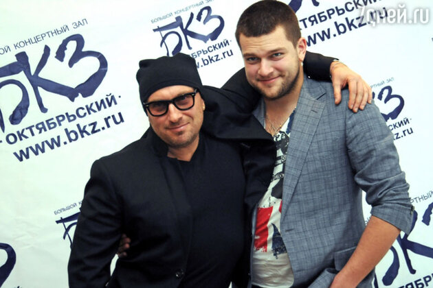 Дмитрий  и  Кирилл Нагиевы