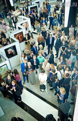 Открытие выставки Владимира Широкова