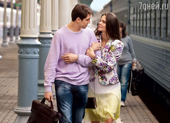 Елизавета Боярская и Михаил Пшеничный