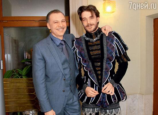 Сергей Чонишвили и Максим Матвеев сыграли Дориана Грея и священника