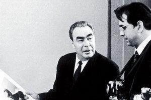 Личный фотограф Брежнева отказался продавать зарубеж свой архив