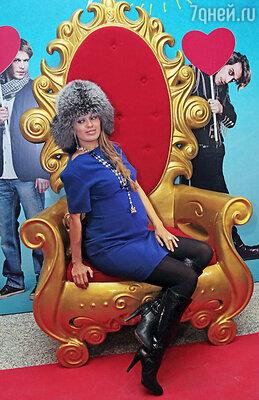 Виктория Боня на премьере фильма