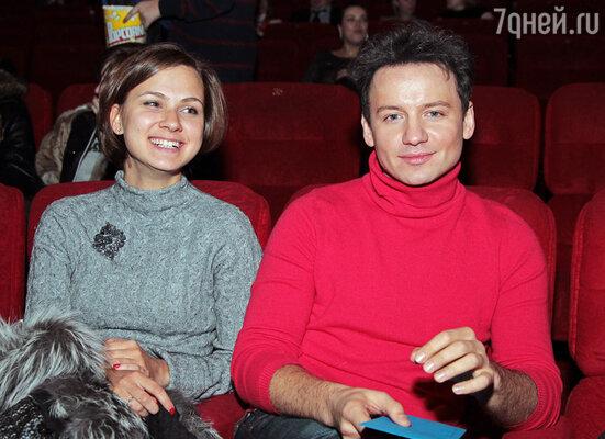 Александр Олешко на премьере фильма