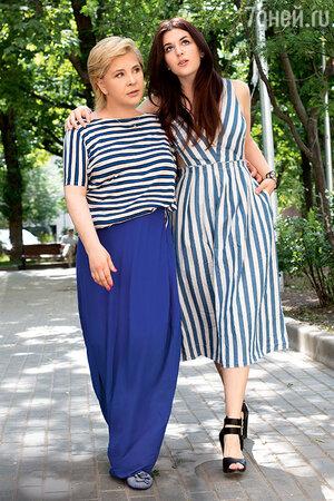 Татьяна Догилева с дочерью Екатериной