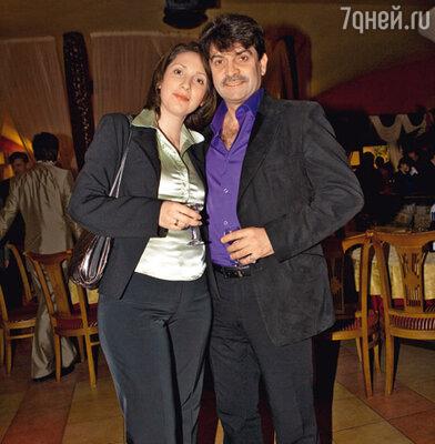 Владимир Вишневский с женой Татьяной