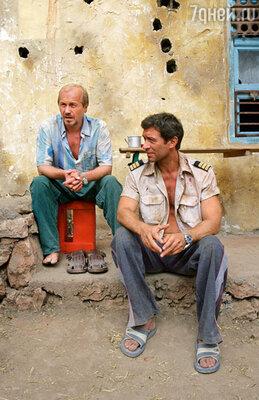 На съемках фильма «Кандагар»