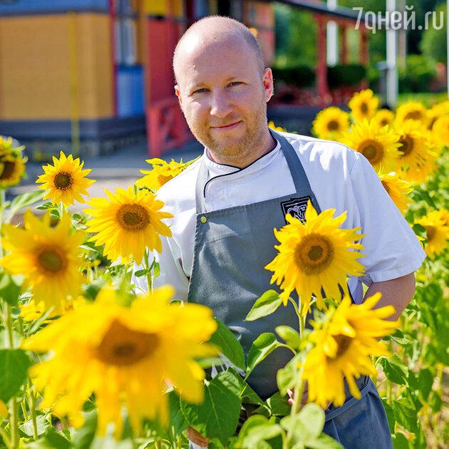Михаил Лукашонок, шеф-повар ресторана «Марк и Лев» в Приволье (Тульская область)