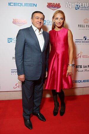 Арас Агаларов и Татьяна Навка