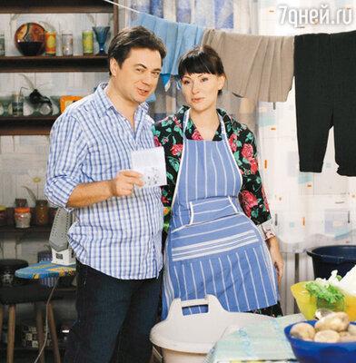Андрей Леонов и Нонна Гришаева еще обязательно встретятся на съемках «Папиных дочек»