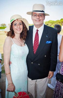 Стефан, принц Черногории и принцесса Камилла