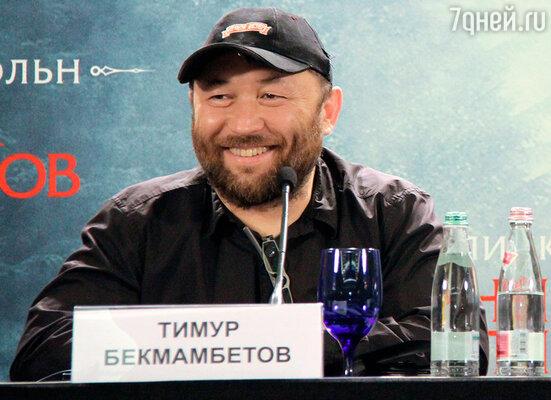 Тимур Бекмамбетов  на пресс-конференции, посвященной фильму «Президент Линкольн: Охотник на вампиров»