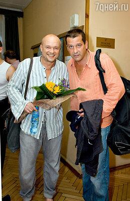 Участники спектакля Андрей Смоляков и Ярослав Бойко